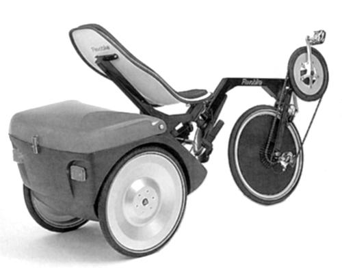 FlevoTrike with large luggage boot