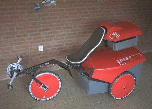 FlevoTrike prototype designed for postmen