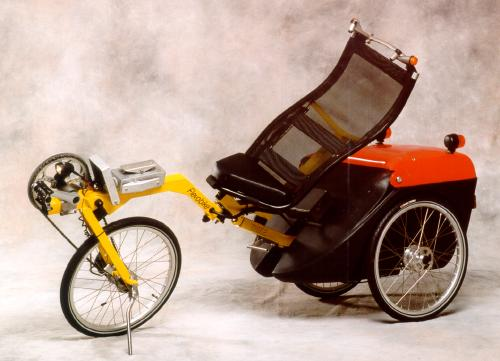 A Flevotrike for armless people